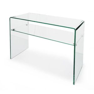 TABLE BASSE Table en Verre JONI