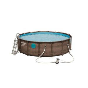 PISCINE BESTWAY Piscine ronde Frame Pool Swim vista - 488