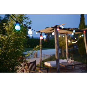 GUIRLANDE D'EXTÉRIEUR LEALIGHT Guirlande LED globes tricolores - 12 V -