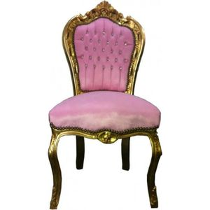 CHAISE Baroque Chaise Dner Rose