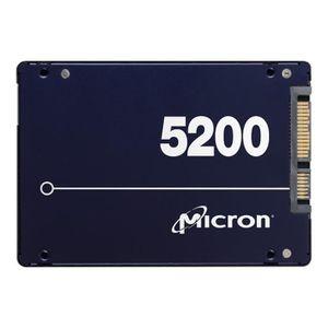 MÉMOIRE RAM MICRON Disque dur -5200ECO - 7.68 TB SATA 2.5INTCG