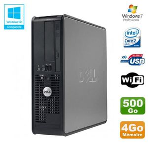 UNITÉ CENTRALE  PC DELL Optiplex 780 Sff Core 2 Duo E8400 3Ghz 4Go