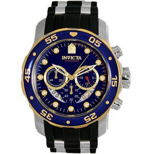 MONTRE Montre Bracelet INVICTA Pro Diver 22971 Bleu Silic