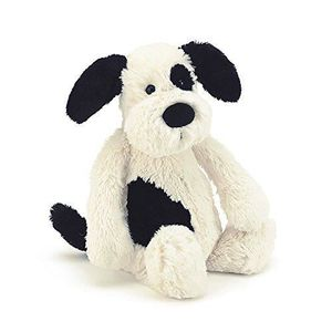 PELUCHE Jellycat Bashful Puppy Huge - H20  Black and White