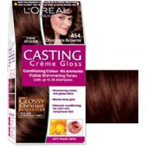 coloration casting crme gloss brownie n454 loral - Casting Coloration