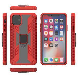 COQUE - BUMPER Coque iPhone 11,Rouge Premium Solide Antichoc avec
