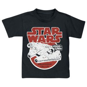T-SHIRT Star Wars Millennium Falcon T-shirt noir