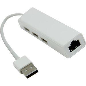RÉCEPTEUR - DÉCODEUR   Adaptateur Lan multifonction a trois ports de USB