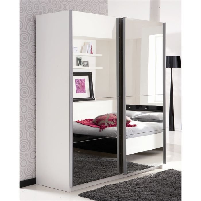 strass armoire 170 x 203 x 60 cm miroir achat vente. Black Bedroom Furniture Sets. Home Design Ideas