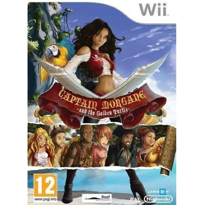 CAPTAIN MORGAN AND THE GOLDEN TURTLE / Jeu Wii