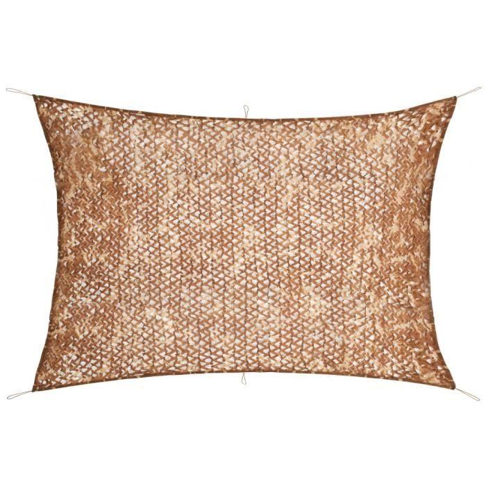 Filet de camouflage avec sac de rangement 6 x 8 m