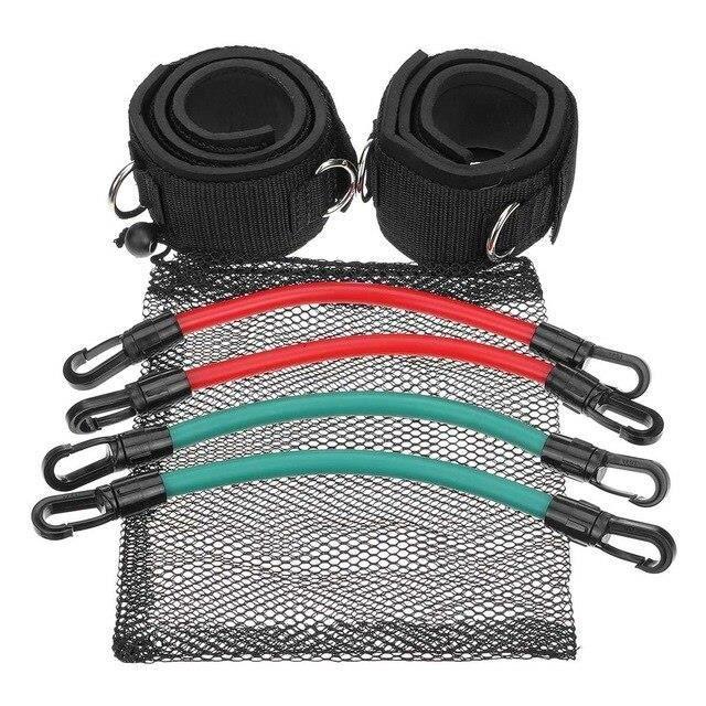 Ensemble d'élastiques de résistance Crossfit, bandes en caoutchouc pour l'entraînement physique green -MEAI3886