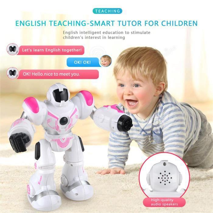 Télécommande De Danse Jouet Pour Enfants Chargement Multifonction Robot Intelligent @sue2230