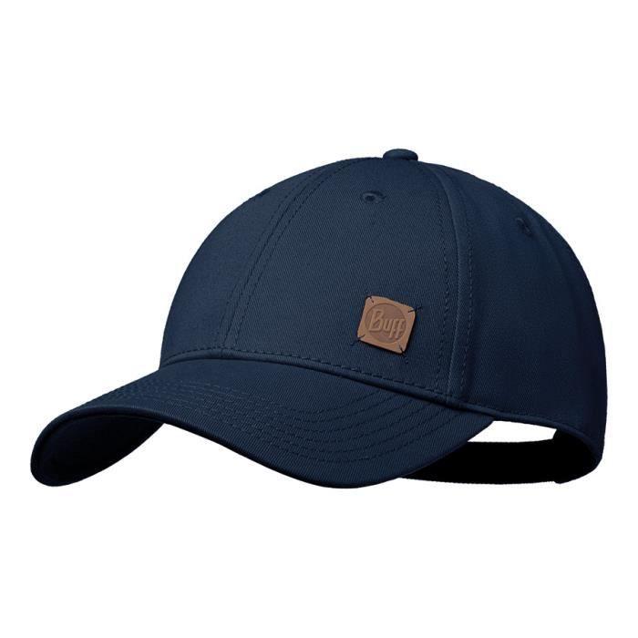 Casquette Buff Baseball Cap Solid Navy bleu