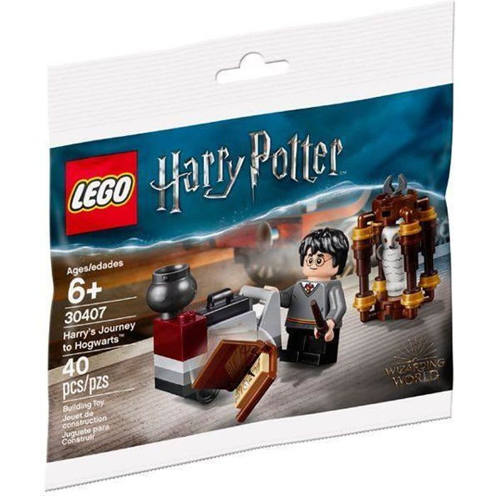 LEGO Le Voyage de Harry Potter à Poudlard (Polybag) - 30407 - Harry Potter