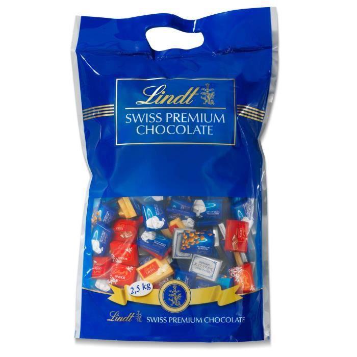 Confiserie de Chocolat Lindt Napolitains Assortis - Sachet 2500G