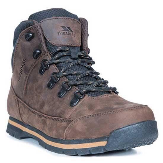 chaussures homme bottes trespass jericho. caractéristiques:botte en cuir mi-longuemembrane imperméable et respirantelangue à souffle