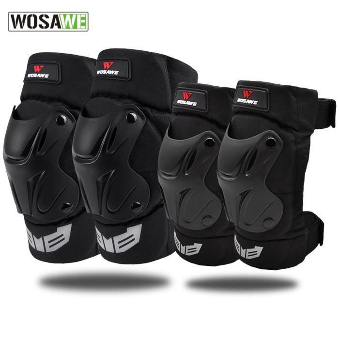 PROTEGE-CHEVILLES - CHEVILLERE,Coudières et genouillères moto coude Support cyclisme Protection - Type elbow and knee set