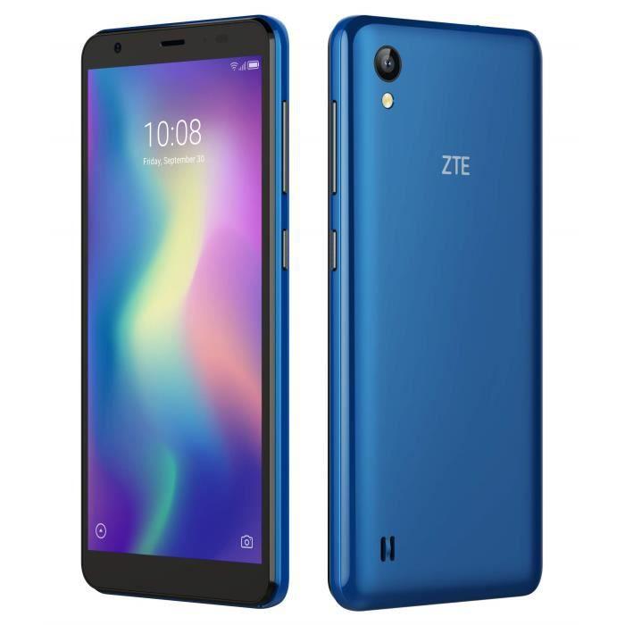 ZTE Blade A5 2019 13,8 cm (5.45-) 1 Go 16 Go Double SIM 4G Bleu 2600 mAh Blade Blade A5 2019, 13,8 cm (5.45-), 1 Go, 16 Go, 13 MP, A