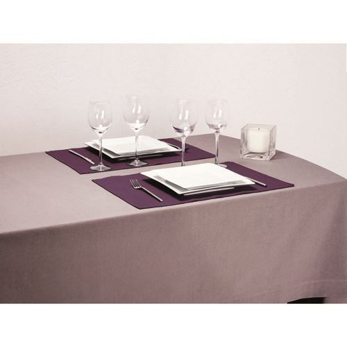 Set de table c tel 33 x 47 cm violet achat vente for Set de table violet