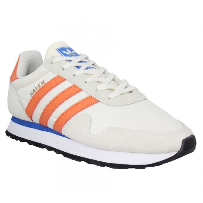 Baskets Adidas Haven 44 Toile Homme BeigeMulticolor Beige VSGzMpqU