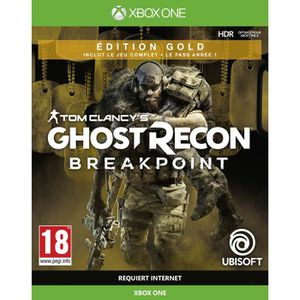 JEU XBOX ONE Ghost Recon BREAKPOINT Édition Gold Jeu Xbox One