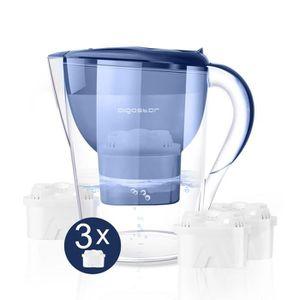 CARAFE FILTRANTE Aigostar Pure - Carafe filtrante 0% BPA, 3.5L, écr
