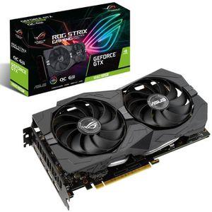 CARTE GRAPHIQUE INTERNE ASUS GeForce GTX 1660 SUPER ROG-STRIX-GTX1660S-O6G