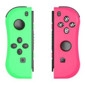 MANETTE JEUX VIDÉO Console Joy-con Contrôleurs de jeu Vert et Rouge p