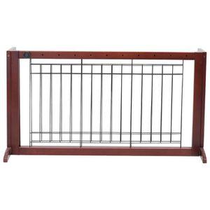BARRIÈRE SÉCURITÉ CHIEN Barrière de Sécurité Porte Extensible 100-180 x 45