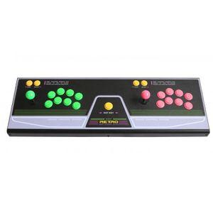 JOYSTICK JEUX VIDÉO RetroCity Arcade Stick 2 Joueurs 21 Boutons Pour R