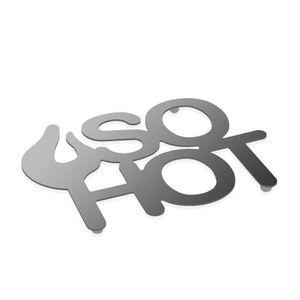DESSOUS DE PLAT  DESSOUS de PLAT neuf en métal DESIGN moderne écrit