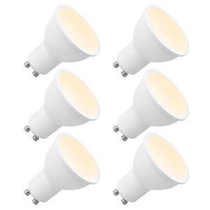 AMPOULE - LED Lot de 6 Ampoules LED GU10 Spot Variateur 7W 650Lm