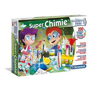 EXPÉRIENCE SCIENTIFIQUE Clementoni - 52263-Super Chimie -Jeu scientifique