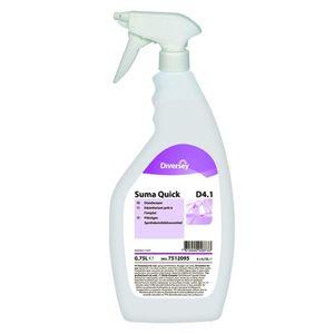 NETTOYAGE MULTI-USAGE Lot de 6 Désinfectants Suma Quick