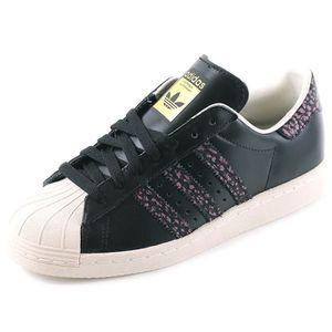 BASKET Chaussures Superstar 80'S Noir Femme Adidas