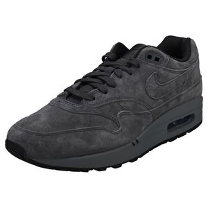 BASKET Nike Air Max 1 Premium Homme Baskets Anthracite