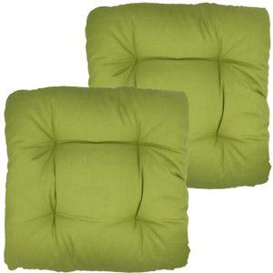 COUSSIN DE CHAISE  Pack x2 Galette de chaise Bari pour jardin de proh