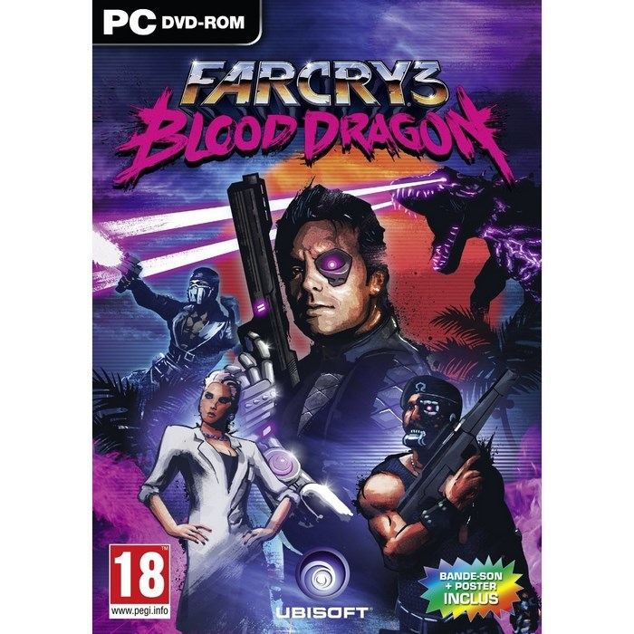 JEU PC FAR CRY 3 BLOOD DRAGON / Jeu PC