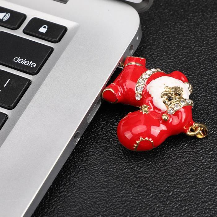 Père Noël 4 Go de mémoire Usb Memory Stick de stockage clé Pen U disque _dw2454