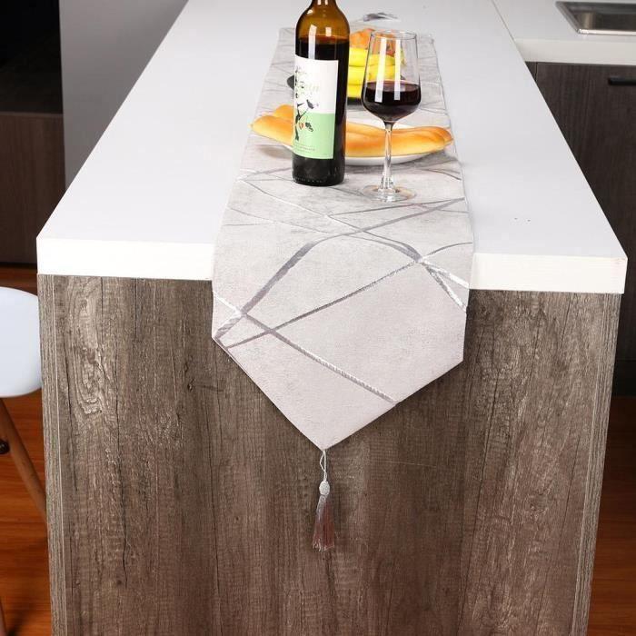 Nappe - Vent nordique minimaliste épaissie table drapeau table basse meuble de télévision Américain modèle chambre repas dra At22900
