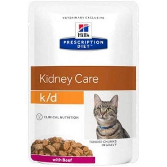 Hill 's Chicken Feline k-d Nourriture pour Chats – 85 GR