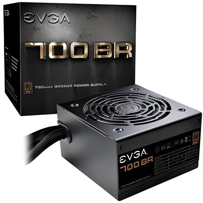Evga Alimentation Pc 700 Br 700W 80+ Bronze