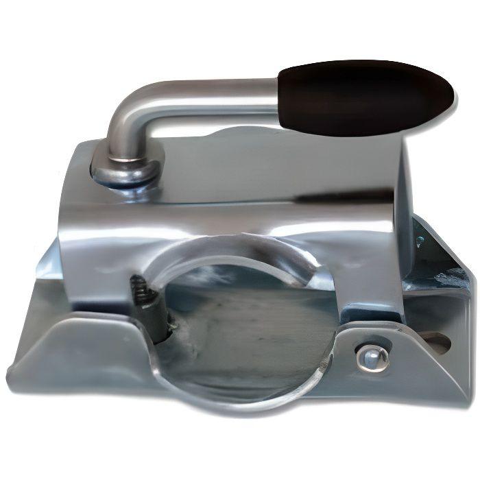 Collier poignée fixe pour roue jockey diamètre 48mm