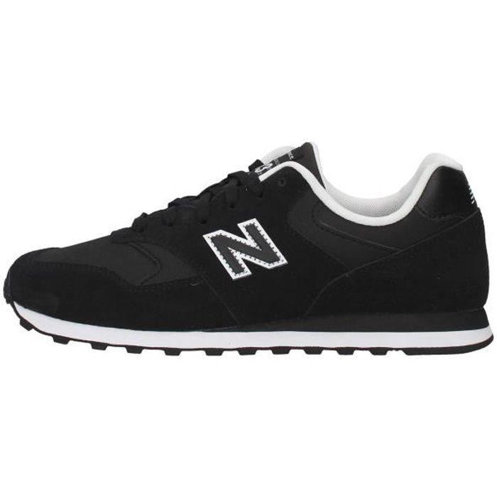 New Balance ML393LK1 chaussures de tennis faible homme NOIR