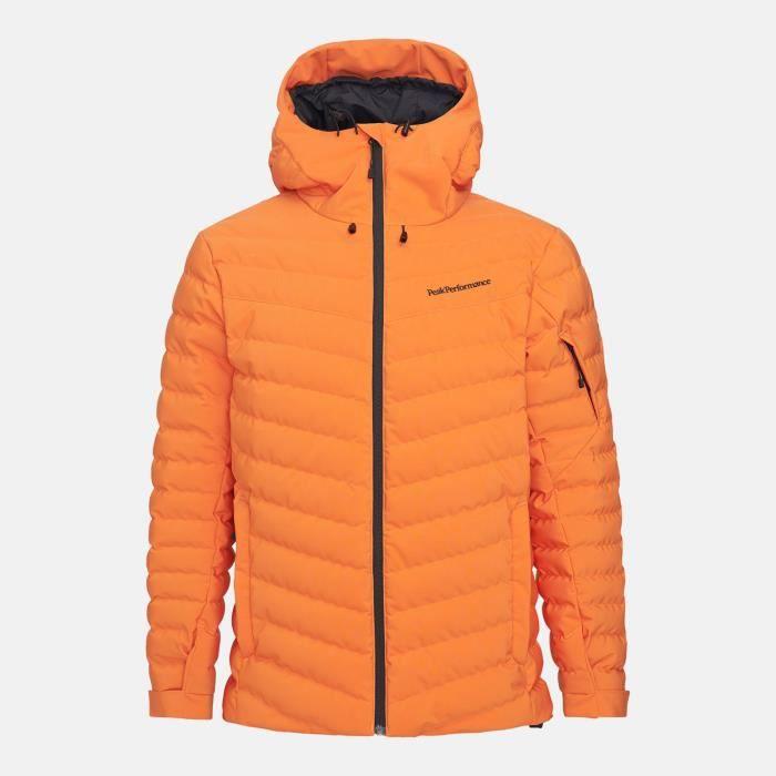 Veste De Ski/snow Peak Performance M Frost Ski Jacket Orange Altitude Homme