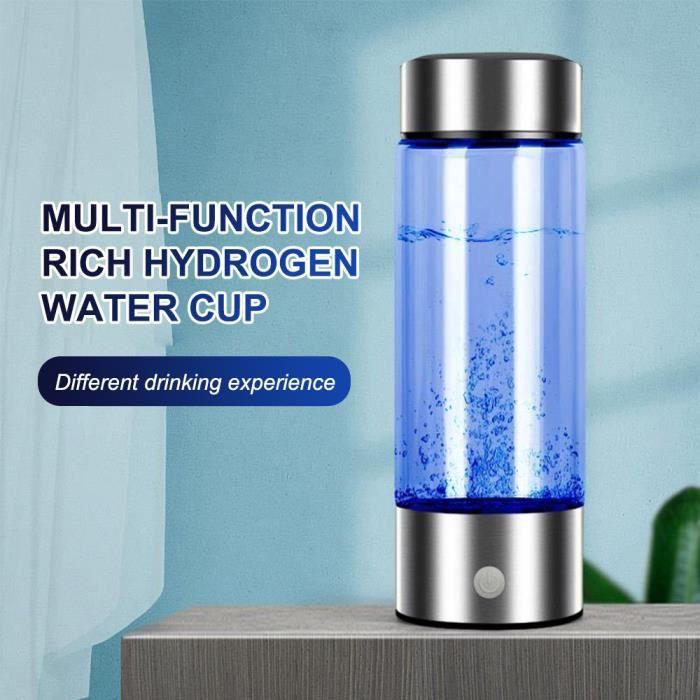 Générateur d'eau d'hydrogène Bouteille d'eau riche en hydrogène fabricant d'eau rechargeable filtre d'eau électrolyse pour eau