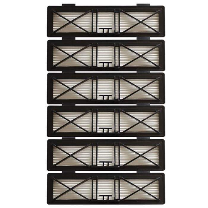 6X PièCes D'Aspirateur Filtre HEPa pour Neato Botvac Connecté D Filtres SéRie Remplace pour Neato D SéRie 945-0215 D75 D80 D85