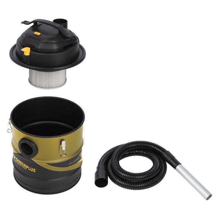 POWERPLUS aspirateur vide cendres 1500W 20L POWX312