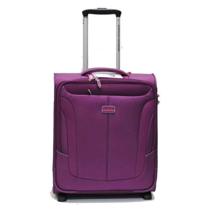 valise cabine coral bay american tourister by samsonite royal purple violet achat vente. Black Bedroom Furniture Sets. Home Design Ideas